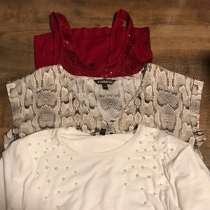 Express bundle all small size blouses